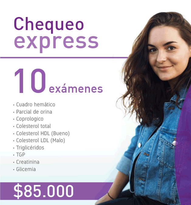 Chequeo express COLCAN